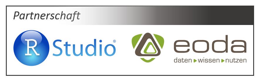 Partnerschaft zwischen RStudio und eoda