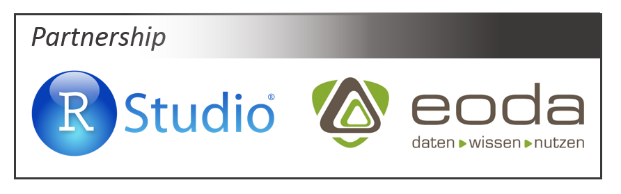 RStudio and eoda announce their partnership