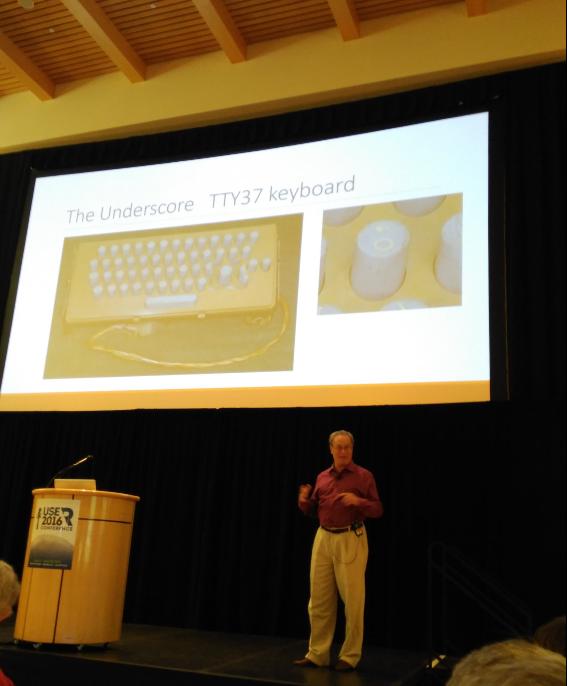 Keynote der useR! 2016 von Richard Becker