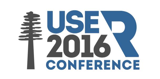 Logo der useR 2016 in Stanford | Kalifornien