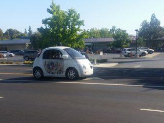 Google Driveless Car für das autonome fahren
