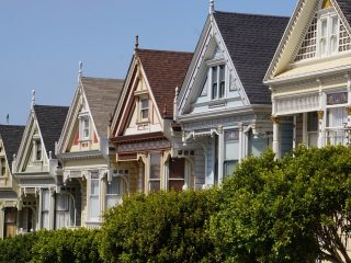 The painted Ladies: Berühmte viktorianische Häuser in San Francisco