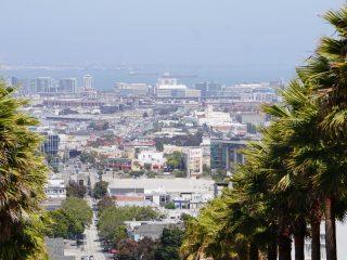 Blick auf San Francisco