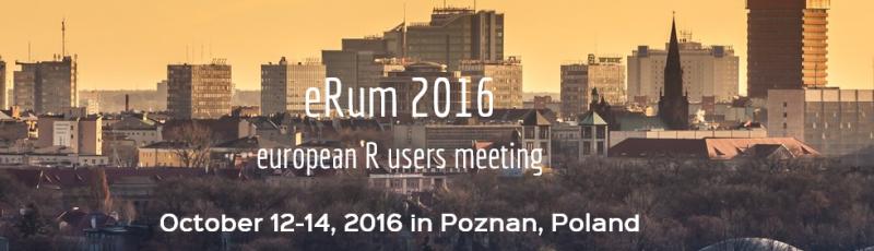 eRum 2016European R users meeting