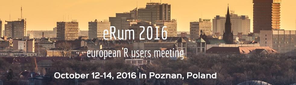 eRum2016: Europäische Konferenz für die Entwickler und Anwender von R