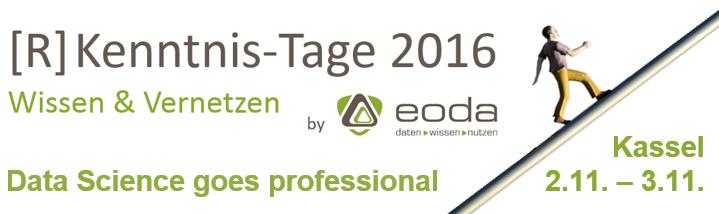 [R] Kenntnis-Tage 2016 | 2.11-3.11 | Kassel - Germany