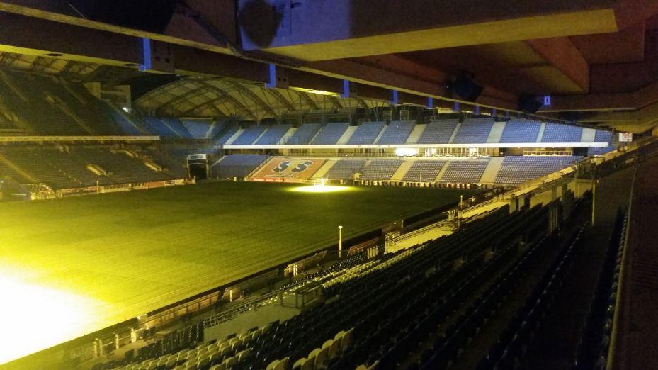 Die Welcome paRty fand im INEA Stadion in Posen statt.