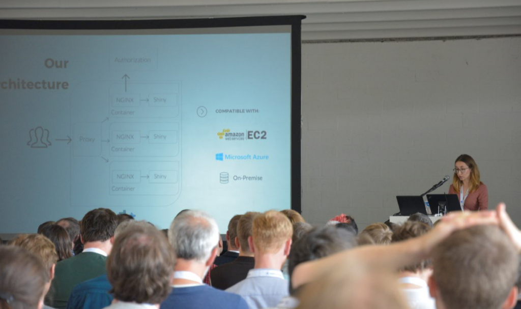 """How wie built a Shiny App for 700 users?"": Talk von Olga Mierzwa-Sulima"