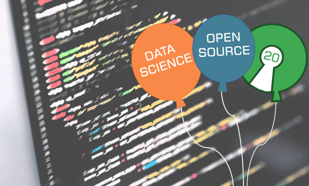 Die Open Source Inititative feiert 20. Geburtstag. Auch aus Data-Science-Sicht ein Grund zu feiern.