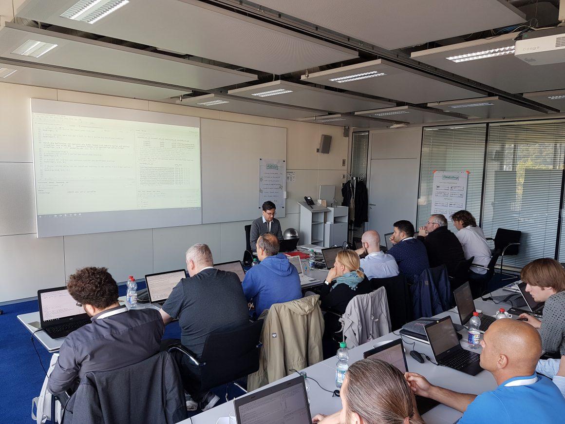 eoda Workshop zum Thema Data Science mit R auf der data2day 2018