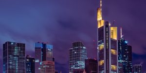 Frankfurt FFM Skyline by night