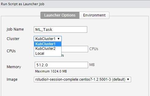 RStudio Jop Launcher Script