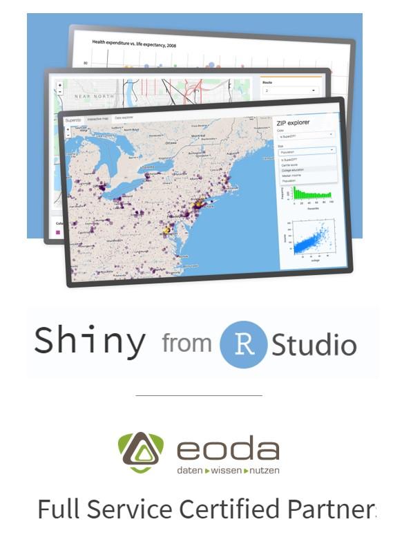eoda ist zertifizierter Partner von RStudio.