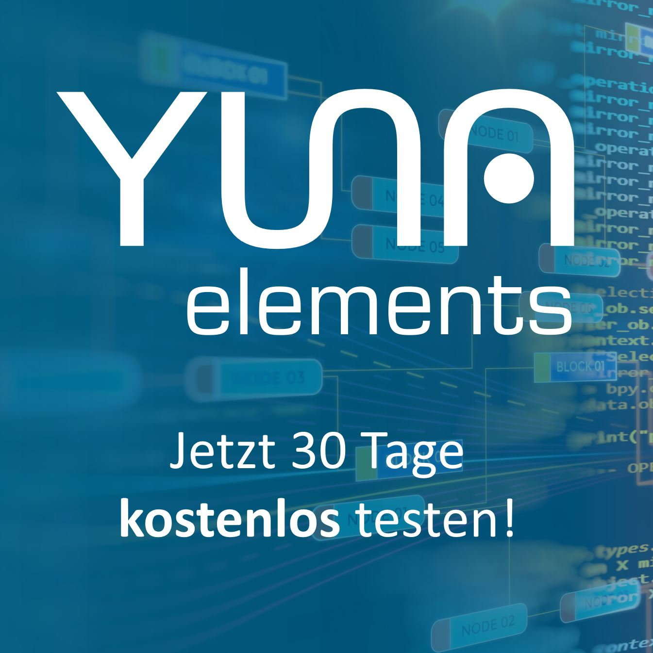 Data Science Framework – YUNA elements now available for download