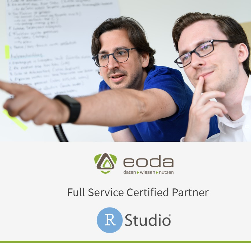 eoda Full Service Certified Partner von RStudio