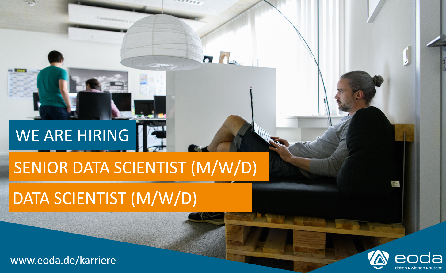 Hey Data Scientists from Germany – eoda is hiring